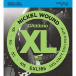 D'addario EXL165 Nickel Wound 45-105