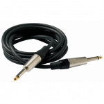 RockCable straight ts 6.3 mm, blk - 3 m