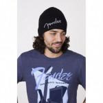 Fender Logo Beanie Hat Black