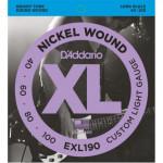 D'Addario EXL 190 40-100