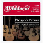 D'Addario EJ17 Phosphor Bronze Medium (013 - 056)