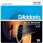 D'Addario EJ11 Light (012 -...